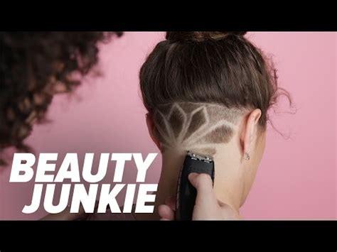 undercut  hair design