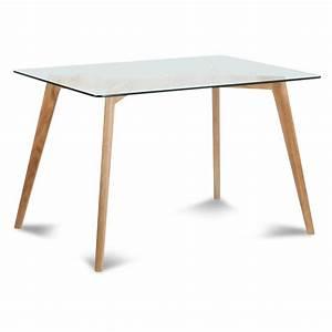 Couvert De Table Design : table verre 12 couverts ~ Teatrodelosmanantiales.com Idées de Décoration