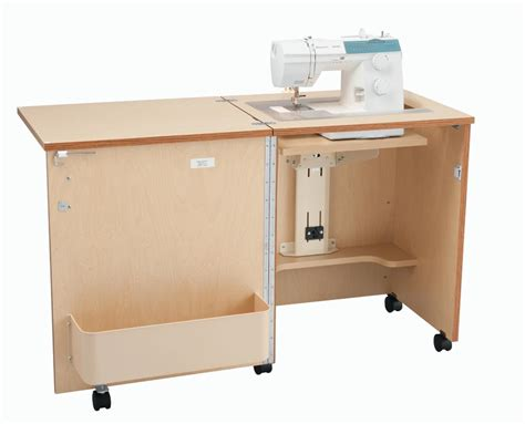 compact sewing machine cabinets inspira compact sewing cabinet oak