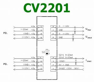 Cv2201 Datasheet - Measuring Amplifier