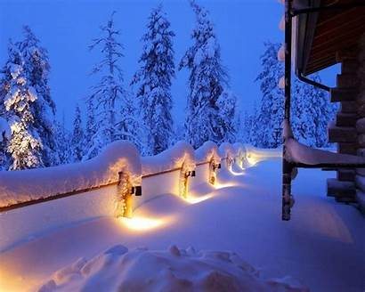 Winter Landscape Snow Wallpapers Landscapes Background Scenery