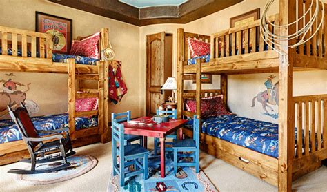 Cool Designs Of Bunk Beds For Four