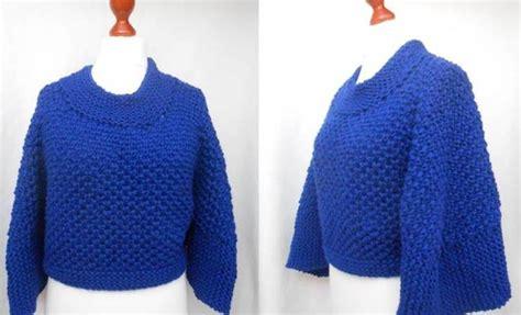 Poncho Und Sweater