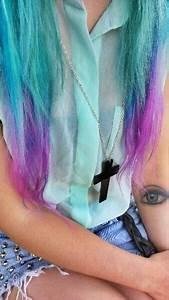 Light Blue-Purple Ombre Hair   Hair   Pinterest   Light ...