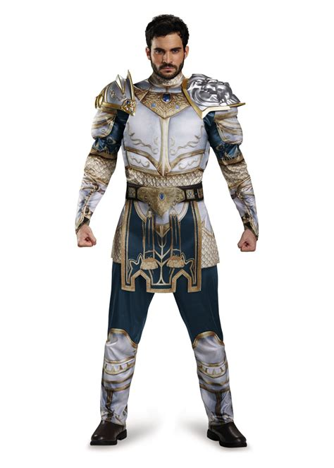 King Llane Classic Muscle Costume - Video Game Costumes