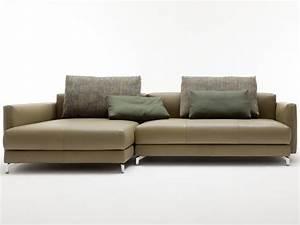 Rolf Benz Nuvola : divano componibile in pelle con chaise longue nuvola divano con chaise longue rolf benz ~ Orissabook.com Haus und Dekorationen