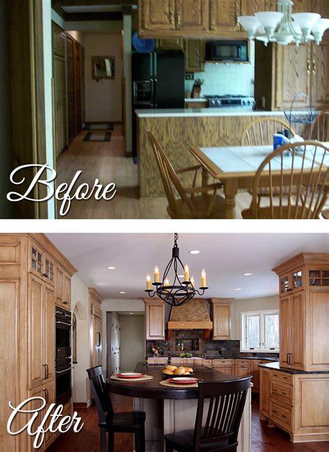 rustic  floor remodel bartelt  remodeling resource
