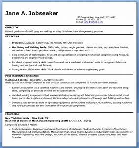 Resume Sample For Freshers Mechanical Engineers Mechanical Engineering Resumes Template Business