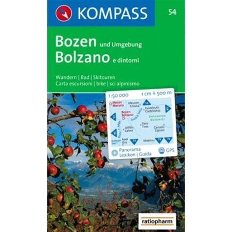 Libreria Europa Bolzano by Achat Carte Randonn 233 Es Bozen Bolzano Kompass 054