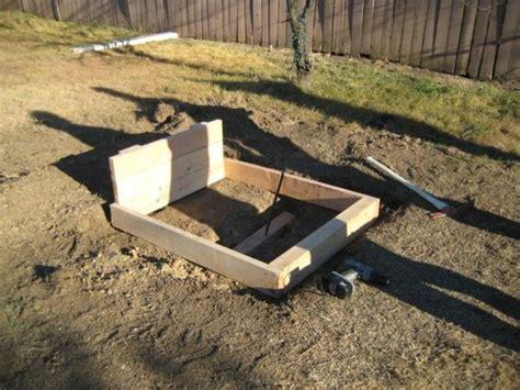 Horseshoe Pit Dimensions Backyard - horseshoe pit yard diy diy yard