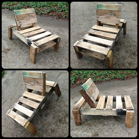 about chaise chaise lounge made from repurposed pallet children