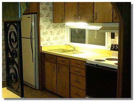 mobile home kitchen   lot