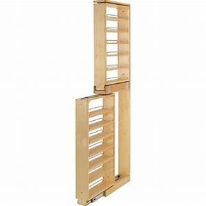 Rev-A-Shelf Tall Filler Pullout Organizer w/Adjustable