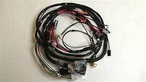 1968 Camaro Rs Forward Front Light Wiring Harness With