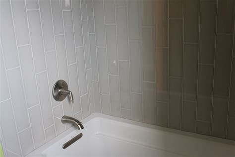 how to tile tub surround what s in tile showers right now and other flooring