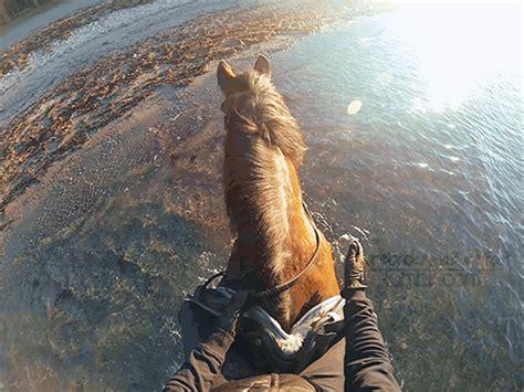 horse riding on the beach | Tumblr