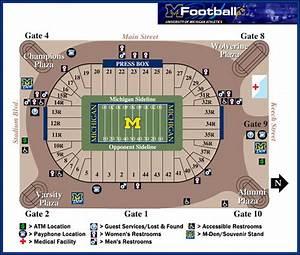 Michigan Stadium Seating Pre Renovation University Of