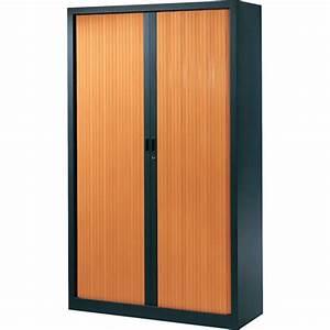 Armoire à Rideaux : armoire de bureau rideaux premier prix stable et robuste ~ Teatrodelosmanantiales.com Idées de Décoration