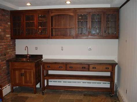 Bar Sink Cabinet by Made Arts And Crafts Quartersawn Oak Bar Sink