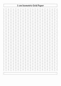 Printable Full Page Graph Paper 1 Cm Isometric Grid Paper Printable Pdf Download