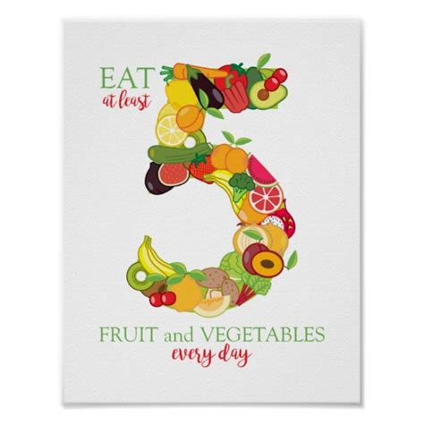 personal trainer healthy eating nutrition food poster