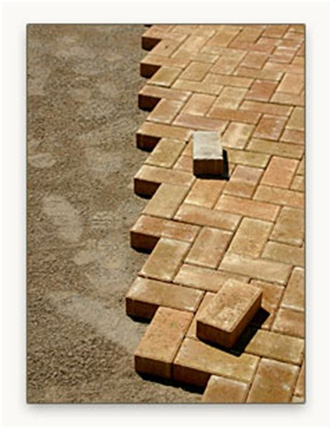 do it yourself brick paver installation