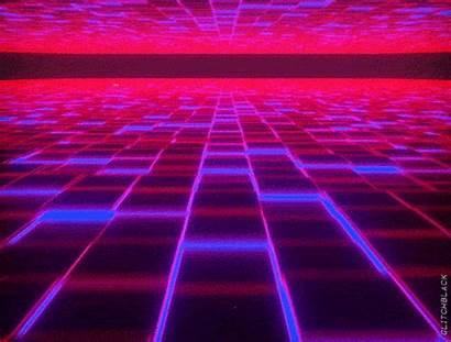 Retro Grid Retrowave Synthwave Cool Artwork Optical
