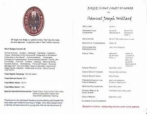 eagle scout court of honor program template - sam willard eagle scout court of honor program troop 494