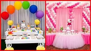 Beautiful Birthday Decoration Ideas // Awesome - YouTube