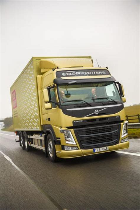 what s the new volvo commercial about new volvo fms reach uk shores commercial motor