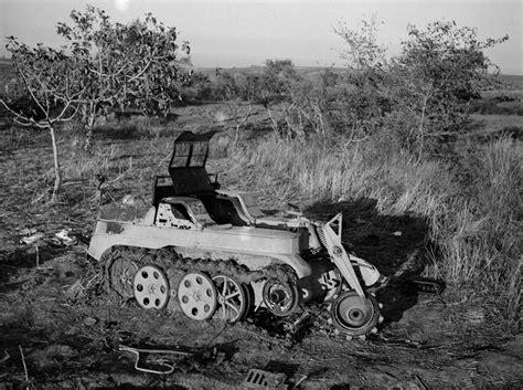 Captured Sdkfz 2 Half-track Motorcycle, 1943
