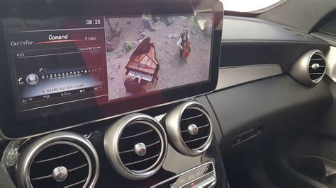mercedes c300 w205 multimedia 12inch lcd upgrade