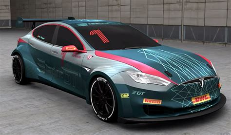 Tesla Racing Series by Charged Evs Fia Approves Tesla Model S Racing Series