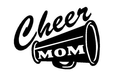 megaphone clipart cheer cheerleading vinyl car truck decal