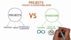 Projects Vs Operations