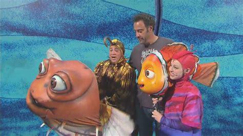 Brad Garrett Visit The Cast Of Finding Nemo At Walt Disney