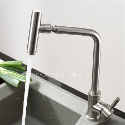 professional kitchen faucets best full rotatable polished nickel professional kitchen faucet