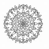 Kaleidoscope Coloring Pages Printable Books Last sketch template