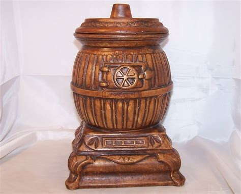 Kitchen Craft Treasures by Potbelly Stove Cookie Jar Treasure Craft