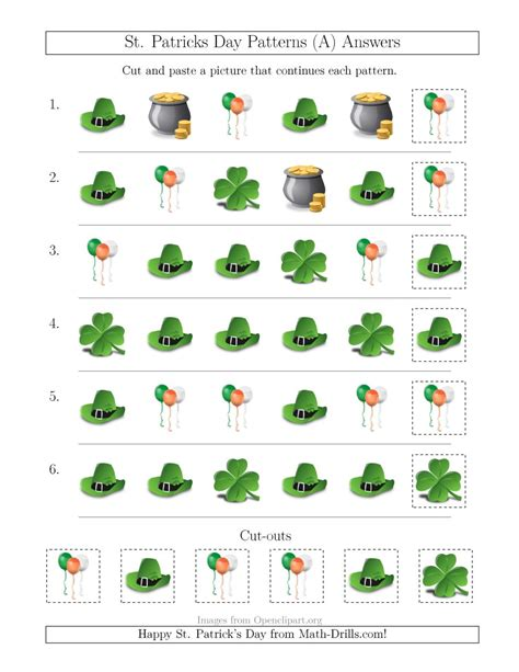st s day picture patterns with shape attribute