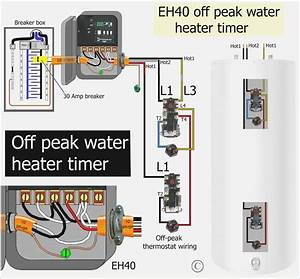 240v Water Heater Timer Wiring Diagram