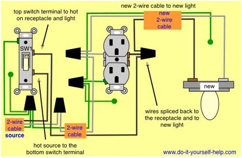Wiring Diagram Add Light Fixture Switched
