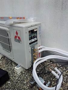 Installation D Une Climatisation : installation de la climatisation r versible dans une maison individuelle sur martigues ~ Nature-et-papiers.com Idées de Décoration