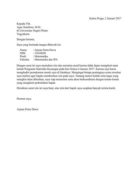 contoh surat pengunduran diri  kampus blogefeller