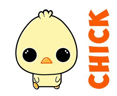 learn   draw cute baby chibi chicks  easter