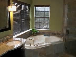 corner tub bathroom ideas corner tub shower porcelain tiles contemporary bathroom philadelphia by blue tree