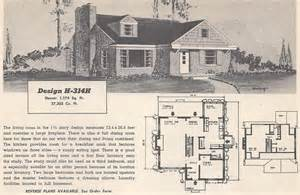 Retro House Plans Pictures by Vintage House Plans 314h Antique Alter Ego