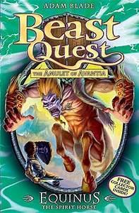 Equinus the Spirit Horse (Beast Quest, #20) by Adam Blade