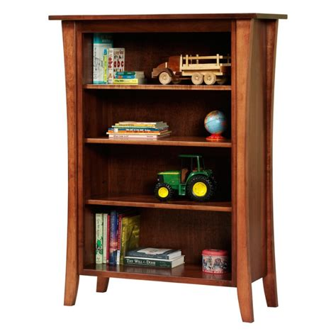 Manhattan Bookcase manhattan 48 quot bookcase amish made solid wood country