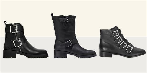 10 Best Black Biker Boots for Women in 2018 - Edgy Leather